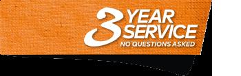 3 Year Service