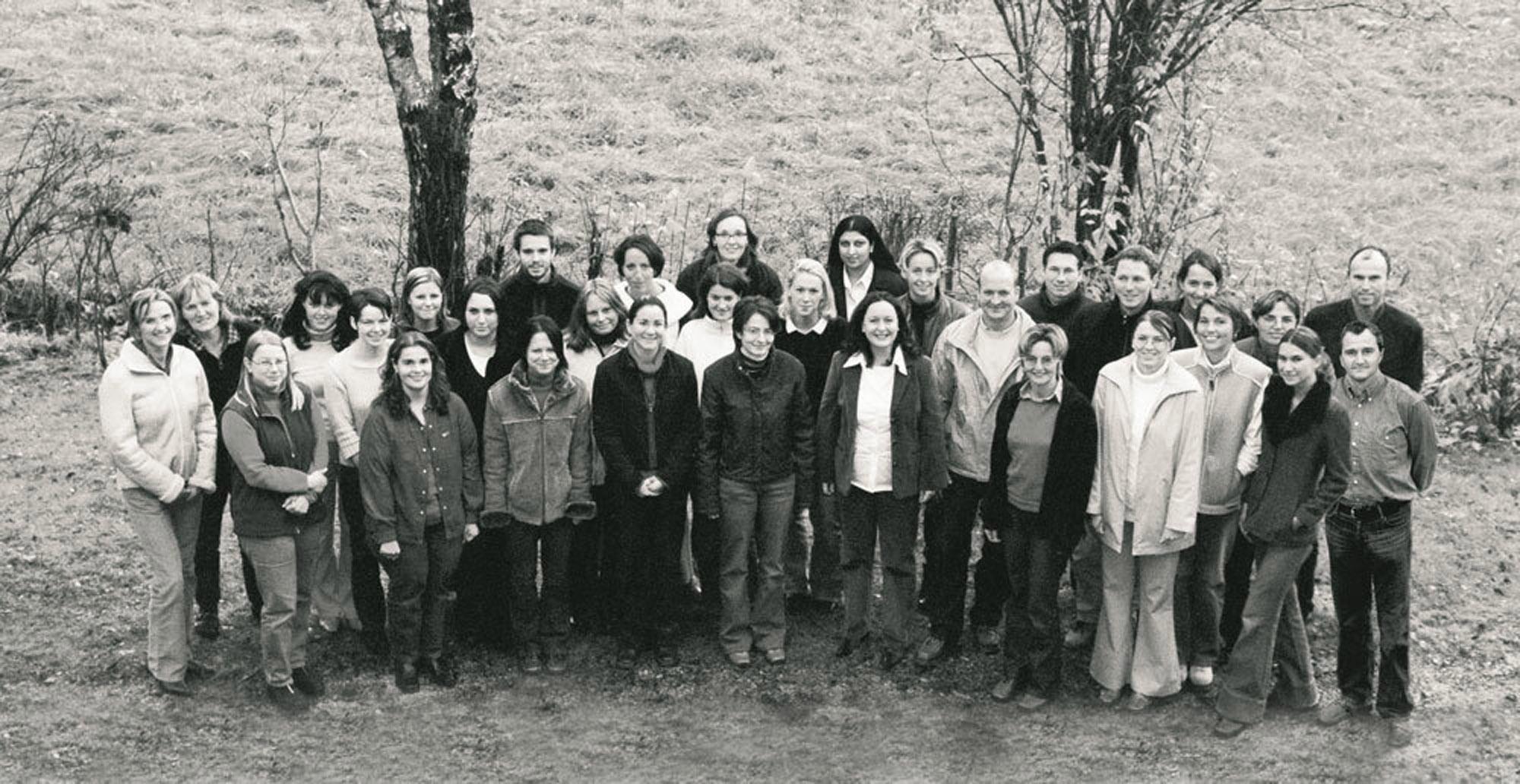 Komperdell Gruppenfoto Büro 2002