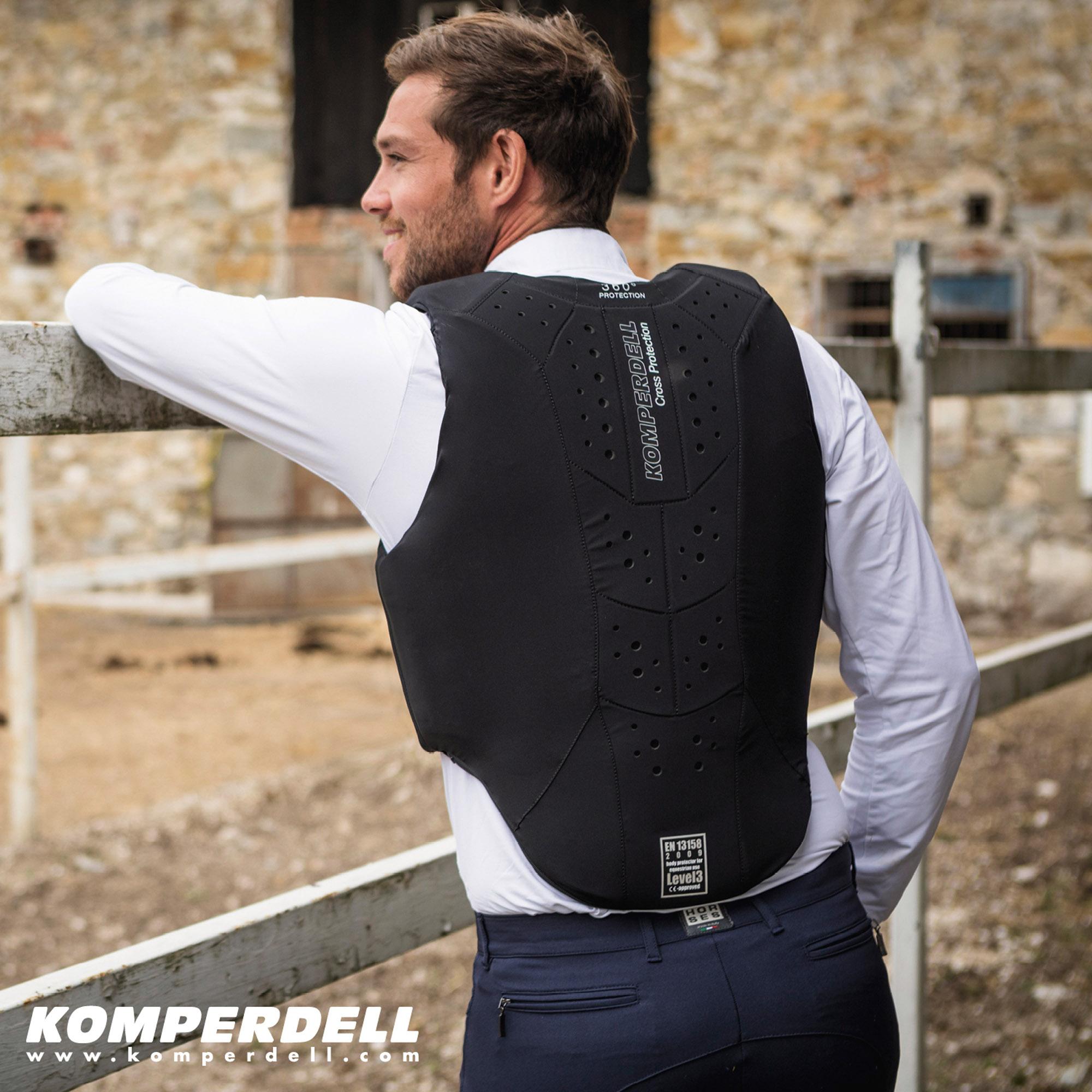 Safety Vest Regular Fit Frontzip Action