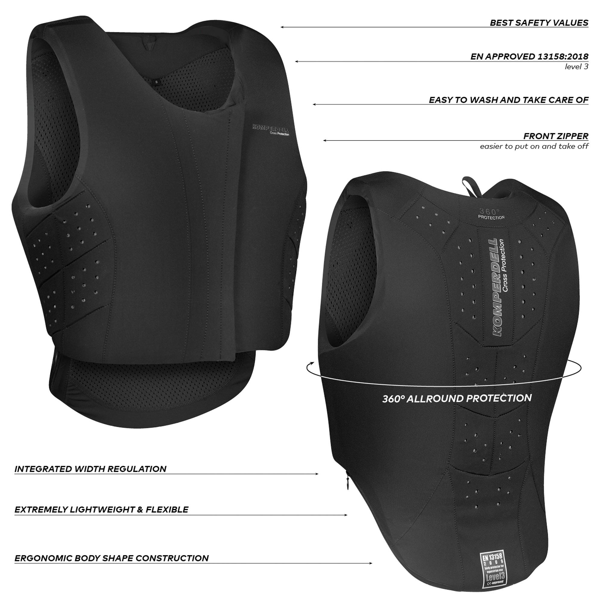 Safety Vest Regular Fit Frontzip