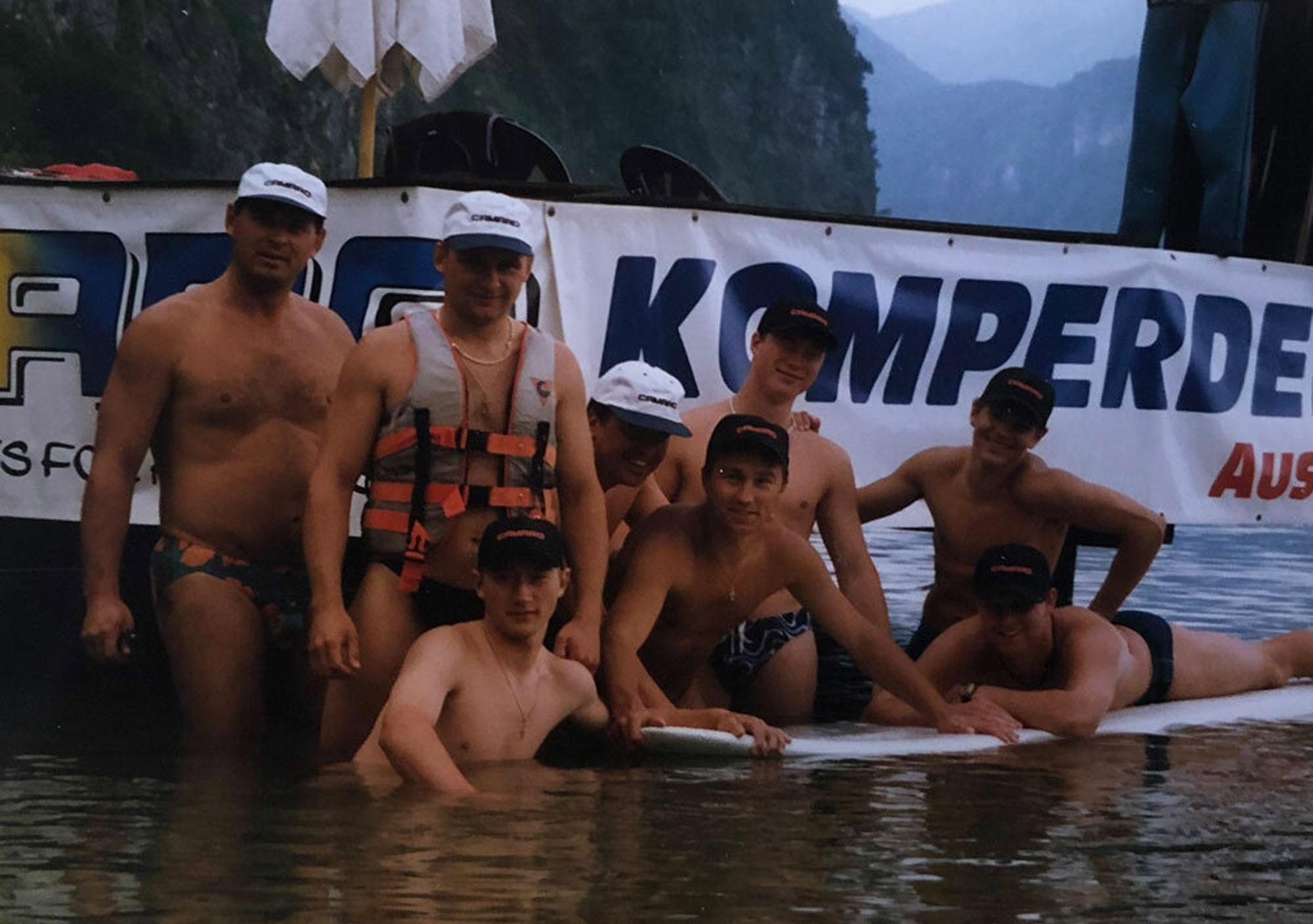 90er Jahre Top Atlethen bei Komperdell