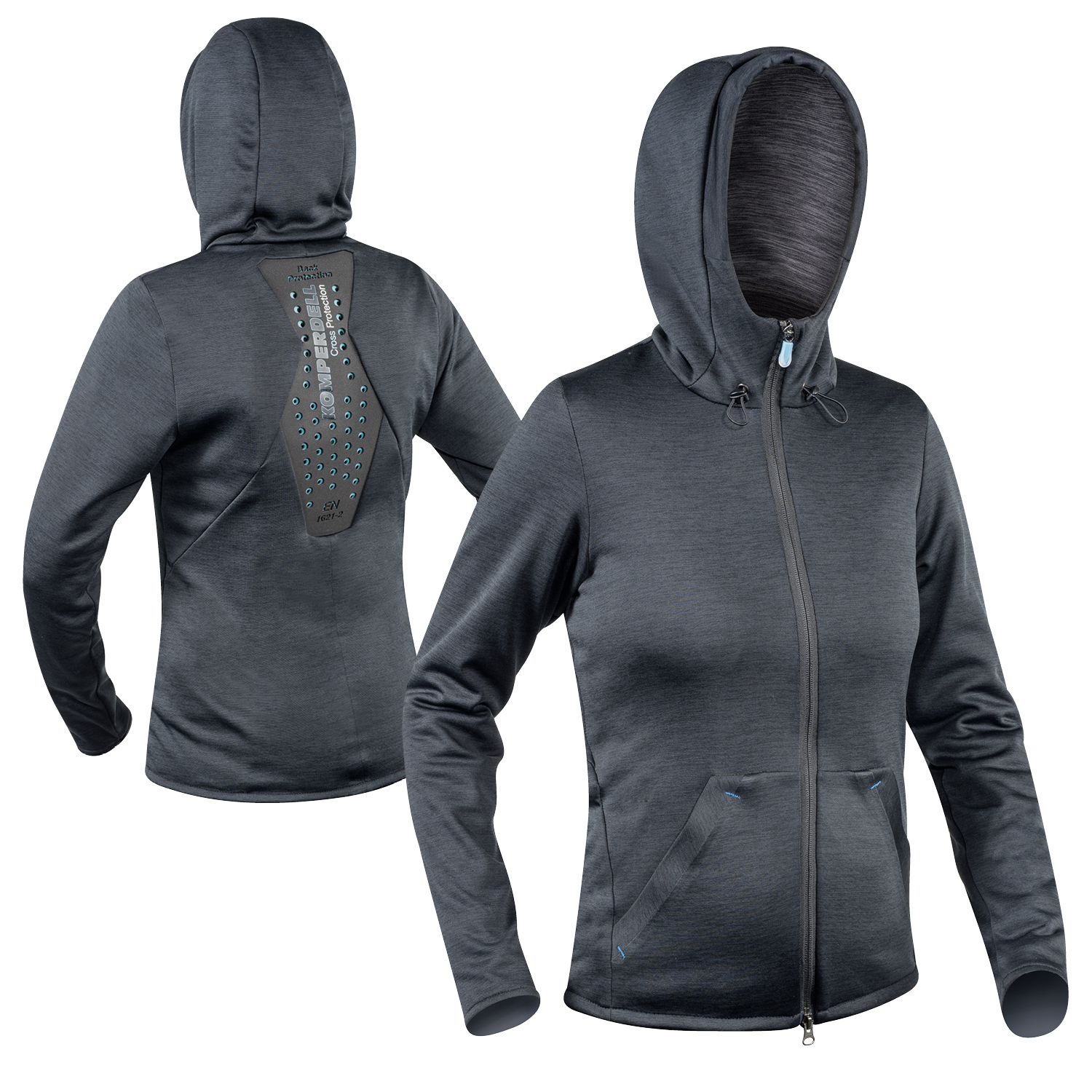 Full Zip Hoody Shirt Women